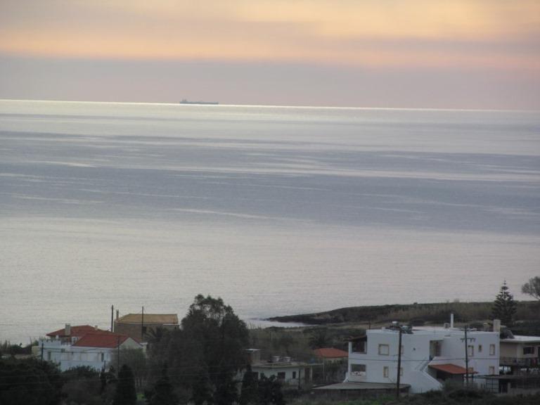 Winterzeit in Griechenland am Meer, hat auch was