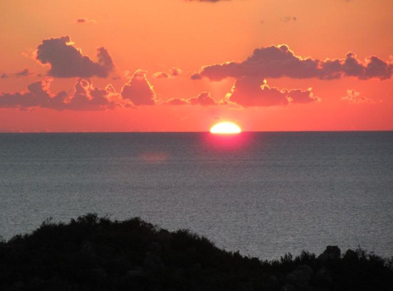 Sonnenaufgang 15. Februar 2014 auf der Peloponnese - Lakonien