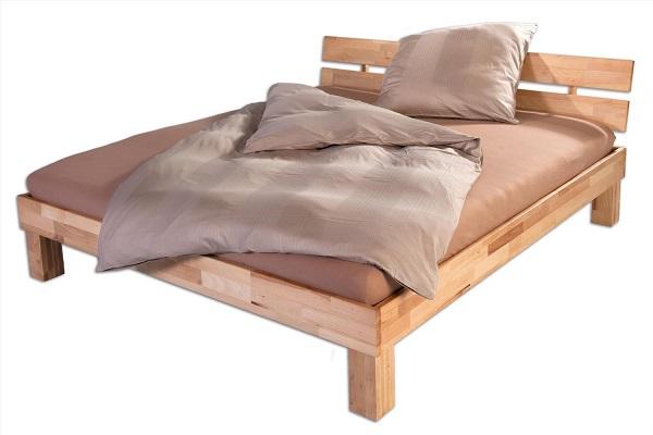 unsere Betten in Kernbuche Massiv, geölt