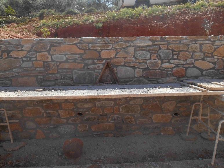 Mauerbau ist Handwerkskunst