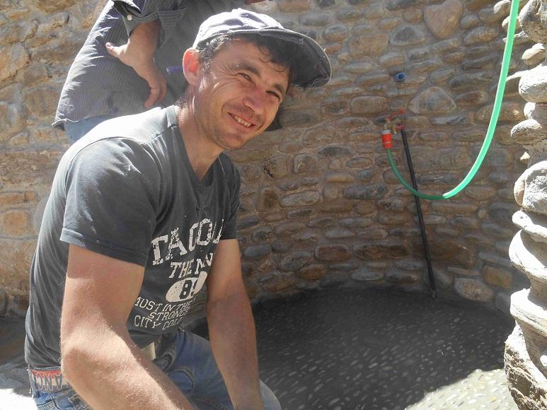 Florino ist Kyriakos erster Mann der uns ganz viel geholfen hat © Lefteris Delastik