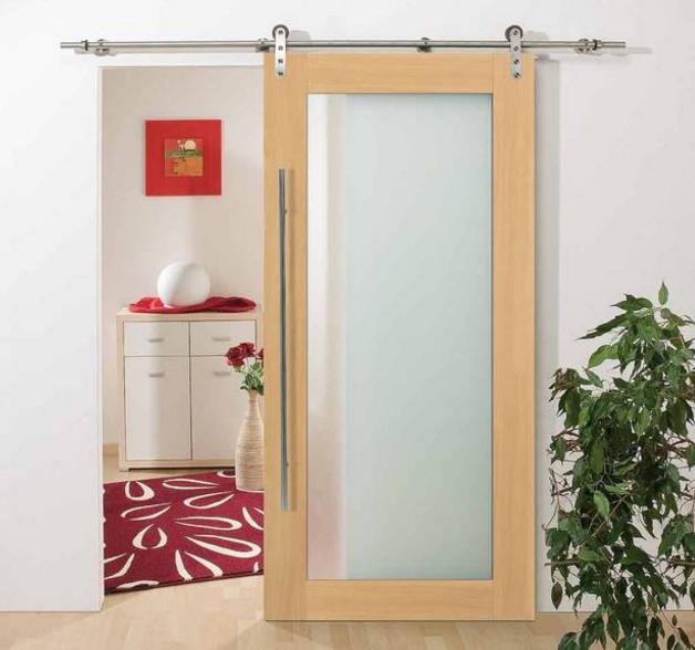 Schiebetür ins Bad (nur die Maserung und Holz wird wie die anderen Türen.