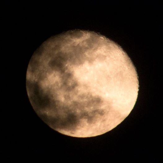 © Lefteris Delastik - abnehmender Mond am 14.03.17 von Nomia-Monemvasia