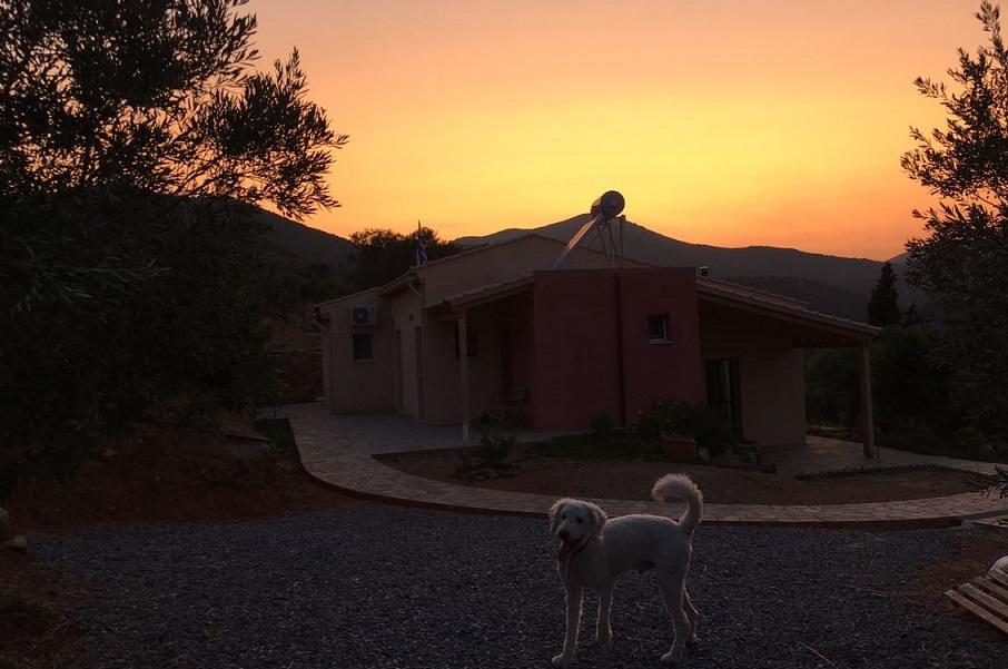 27.08.2017 - so sehen unsere Hausgäste das Spiti Kadowlos beim Nachhause kommen nach einem erlebnisreichen Tag