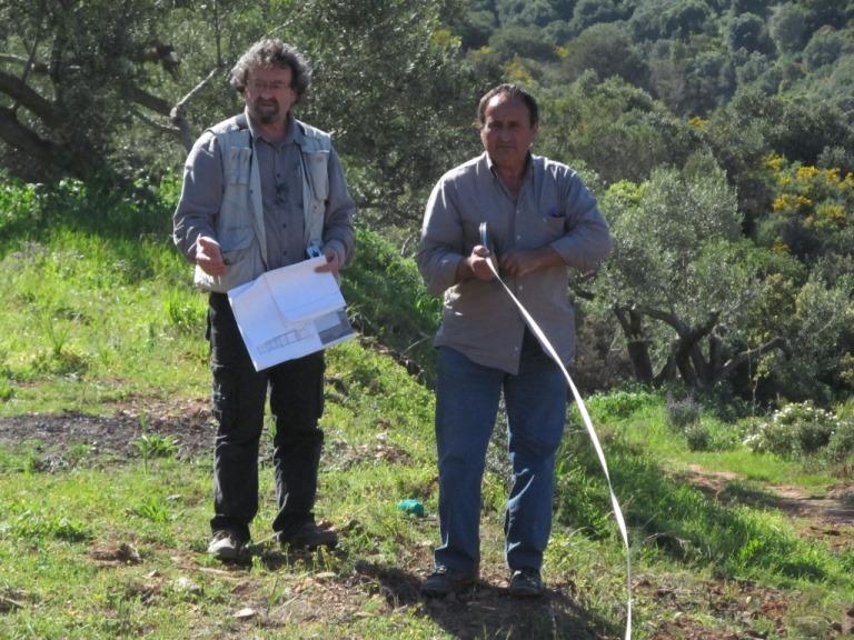 Unser Architekt Dimitris und Baumeister KIriakos