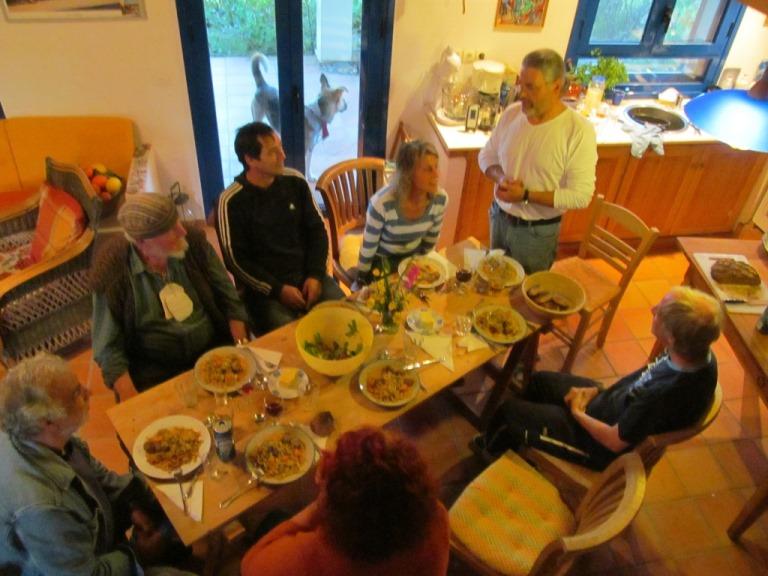 Geburtstag Essen mit Freunden