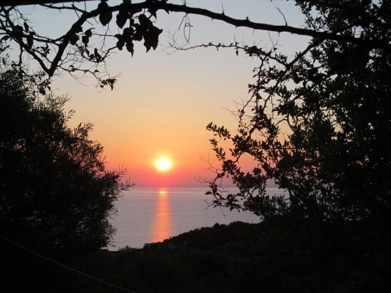 der vorletzte Sonnenaufgang auf der südlichsten Peloponnese