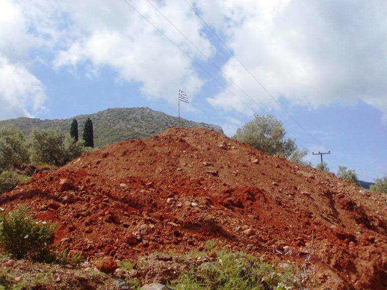 viele Kubikmeter Erdreich in Griechenland (Foto: Lefteris)