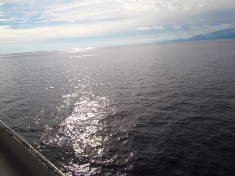Winter in Griechenland - die griechische Sonne begrüßt uns am 29. November 2013 früh morgens