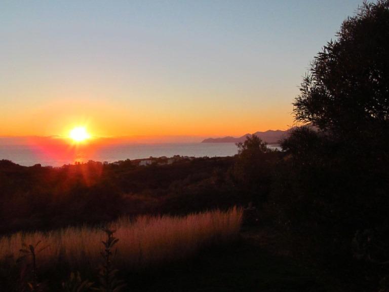 05. Dezember 2013 um 07:30h - die aufgehende Wintersonne