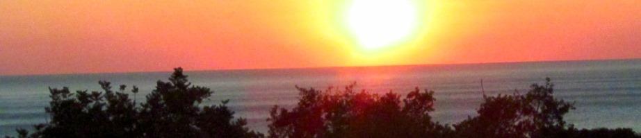 Sonnenaufgang in Nomia auf Kadowlos