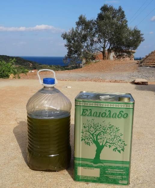 keine riesen Menge, aber vom Feinsten - Bio Olivenöl 2015