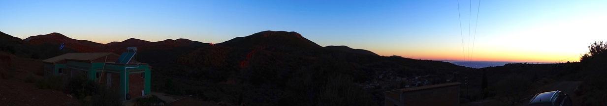 Rundumblick Früh am Morgen 10.11.2015 heute sind 25° gemeldet