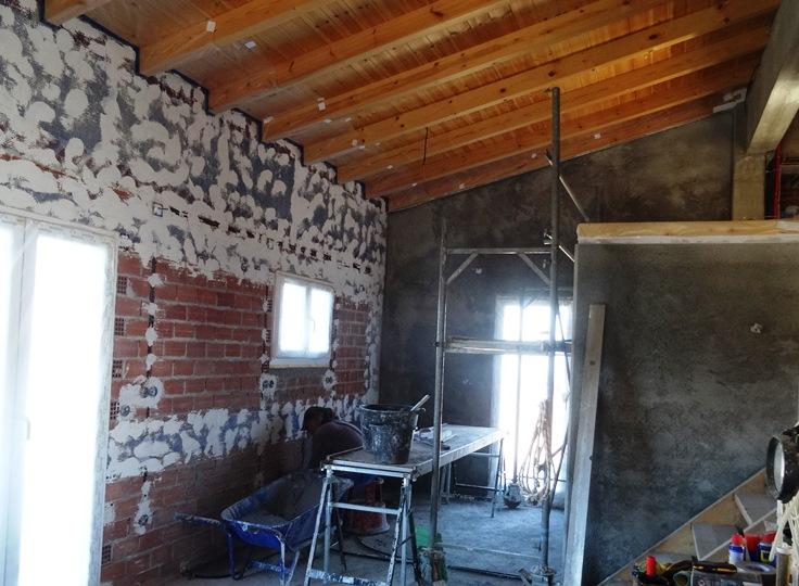 Küche und Vorratsraum