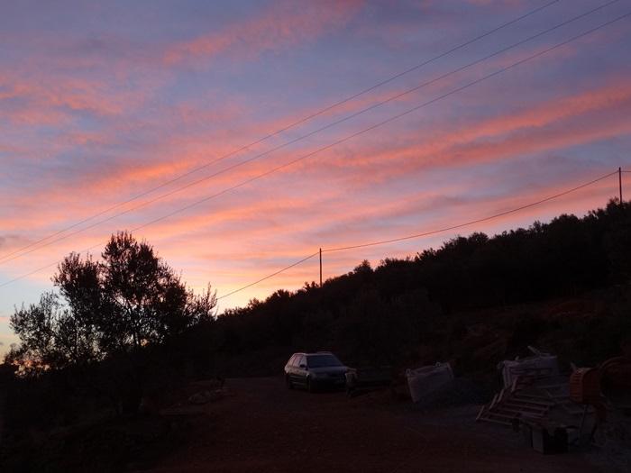 Morgenstimmung vor Sonnenaufgang