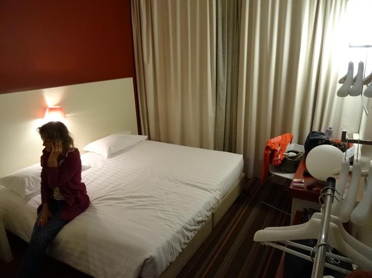 wir übernachten im Michelino Hotel in Bologna IT