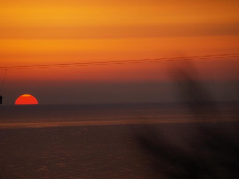 tiefer Schlaf und dieser Sonnenaufgang lässt die vergangenen Stunden vergessen