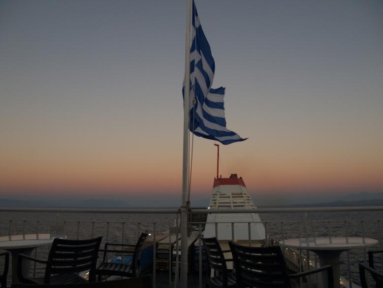 letzter Blick zurück nach Griechenland