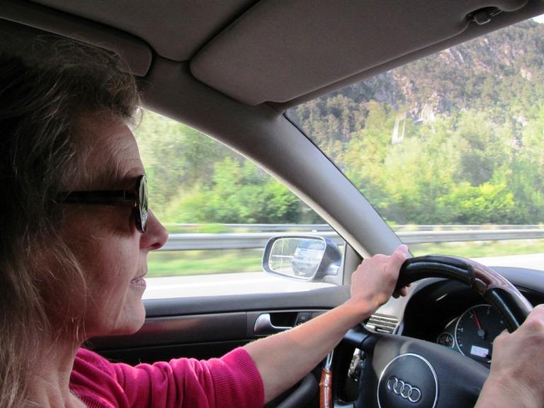1.278 km Fahrt bis Bari Italien zur care-ferry nach Patras Griechenland