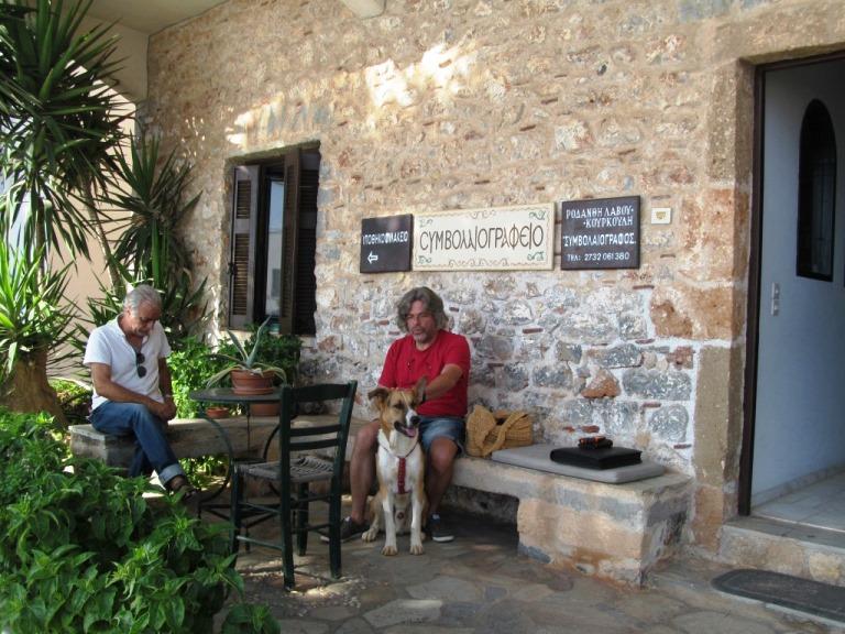 Das Notariat in Monemvasia; Warten auf den Termin