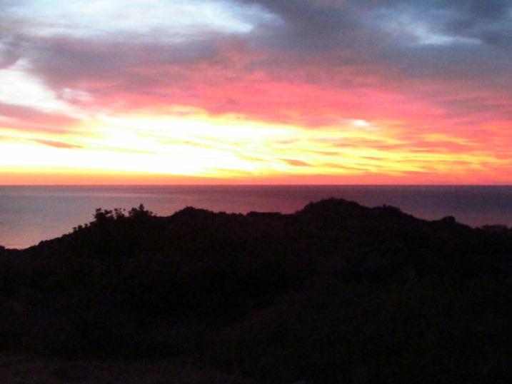 Donnerstag 19.09.2013 das Licht am Himmel 06:50 OEZ vor dem Sonnenaufgang