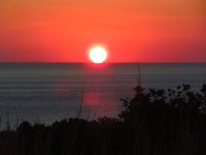 Die Sonne geht auf über der Aegean Sea - Di. 24.09.2013