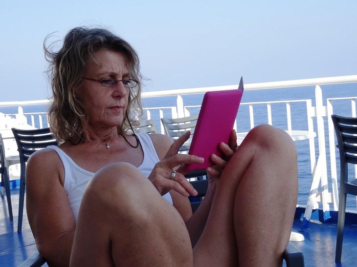 der Urlaub kann beginnen, Silkes neues Kindle
