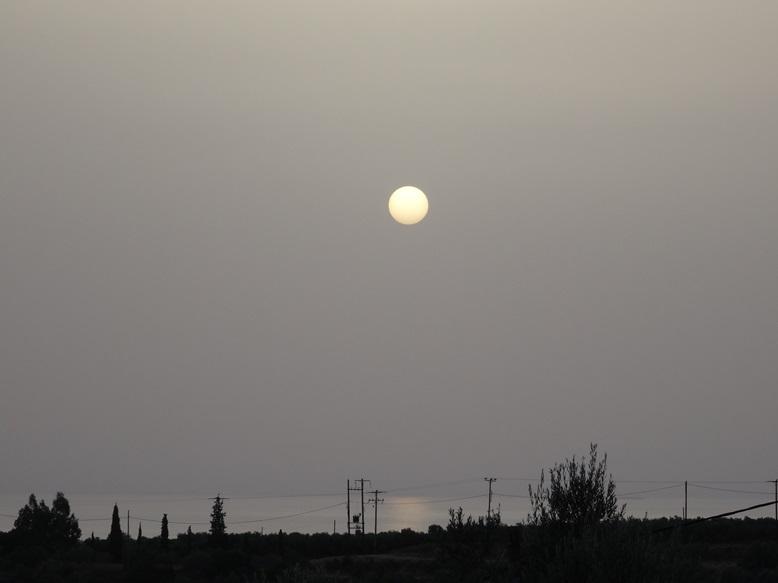 Sonnenaufgang kurz nach 06:00 h am 07.09.2015