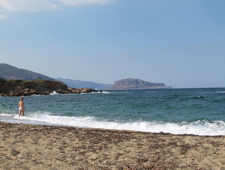 Besuch der Ampelaika Bucht mit herrlich warmem Meerwasser