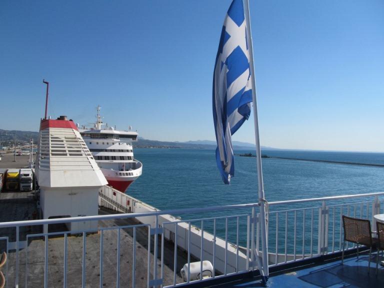 04. Juli - schon wieder geht die Reise mit der Superfast II Pyräus zurück über die Adria und durch Italien zum Pfeifferhof. Am 09. September fahren wir wieder mit diesem Schiff nach Griechenland zurück