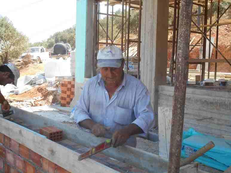 Kiriakos unser Baumeiser - Schalung für den kleinen Ringgurt