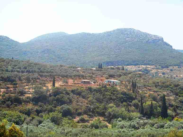 blick auf das Grundstück von Nomia