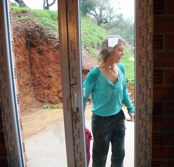 Boa war das Kalt und nass und dann ist noch die Tür verriegelt