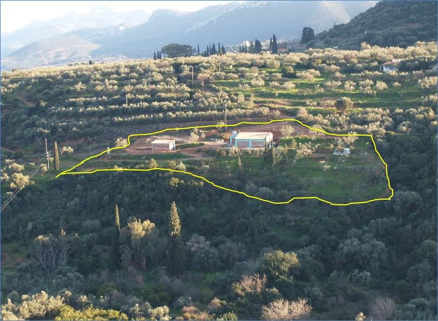 am 15. Februar 2015 blicken wir auf das fertig angelegte und bebaute Grundstück Kadowlos wo wir noch im Wohnwagen schlafen