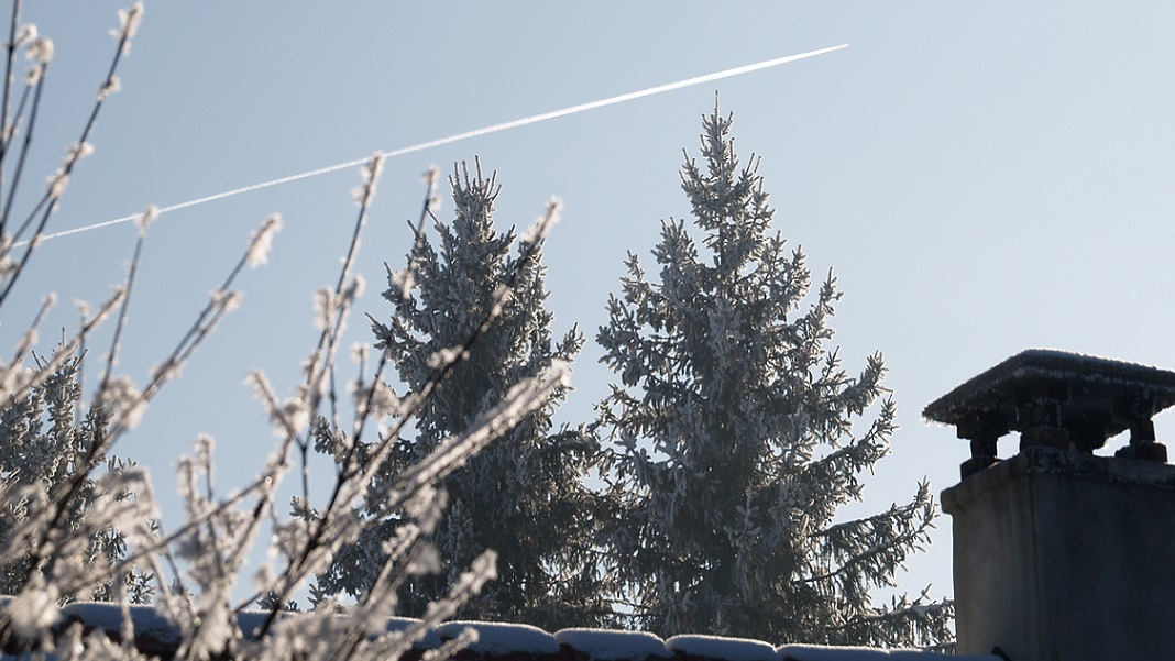 Eiszeit ~ -15°C - wenn die Luft gefriert: Bachhaus im Winterschlaf